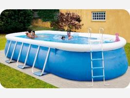 Swimming paint pvc uno smalto per piscine realizzate con for Grandi palazzi con piscine
