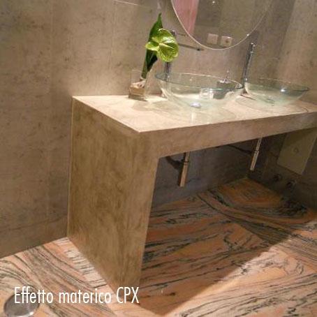 Micro cemento cpx per la creazione di pavimenti decorativi effetto ...