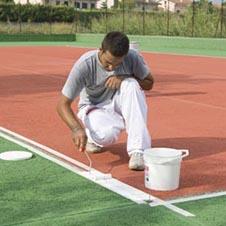 WIMBLEDON PAINT TRACCIATURA per campi in cemento o asfalto