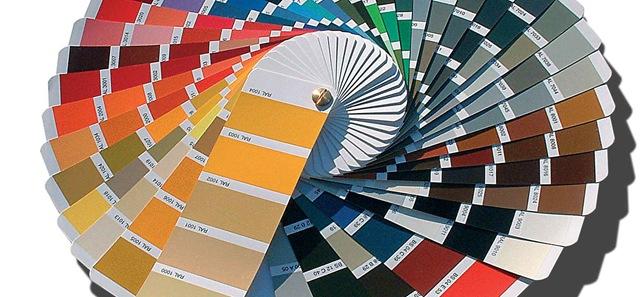 ... mazzetta colori internazionale per interfacciarsi con i colori Ral