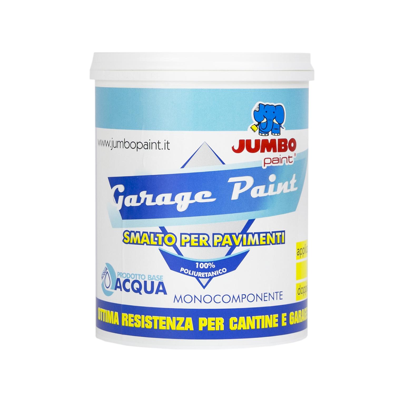Vernici Per Pavimenti: Garage Paint Acqua Monocomponente 1k Per Pavimenti, è Una