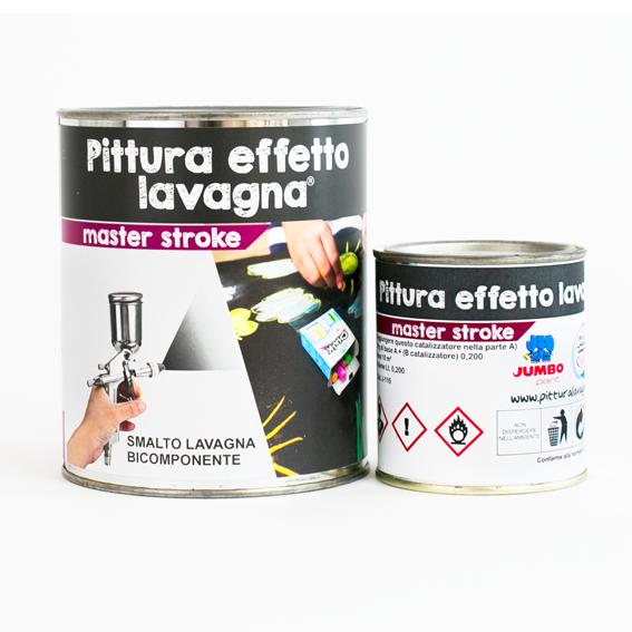 Pittura effetto lavagna k2 master stroke un prodotto for Pittura lavagna prezzo