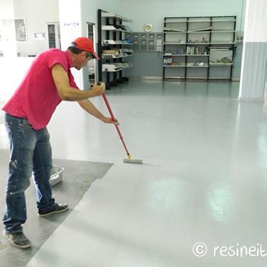 Garage paint 100 epoxy resine per pavimenti - Vernice per piastrelle pavimento ...