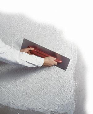 Tonachino bianco acrilico grana 1 0 - Spessore intonaco interno ...