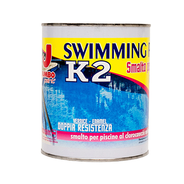 Smalto per piscine K2 Swimming paint ® Kg.8