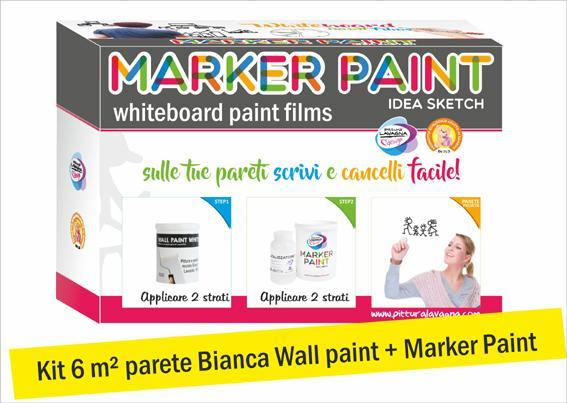 MARKER PAINT FILM TRASPARENTE  KIT 6 M²