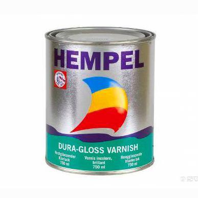 HEMPEL'S DURA-GLOSS VARNISH 02020