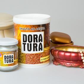 DORATURA METALLICA A BASE ACQUA