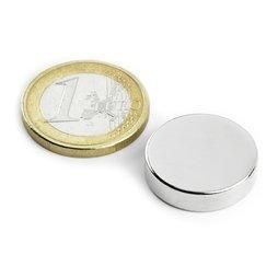 Magnete a disco � 20 mm, altezza 5 mm